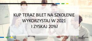 Śląska organizacja Szkoleniowa - Promocja 12 2020